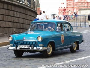 1960 ГАЗ-21И Волга Алексей Авдеев и Вячеслав Аргасов, Москва на ГУМ Авторалли Gorkyclassic-2014 - 1