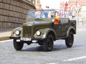 1969 ГАЗ-69А на ГУМ Авторалли Gorkyclassic-2014 - 1