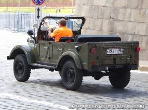 1969 ГАЗ-69А на ГУМ Авторалли Gorkyclassic-2014 - 2