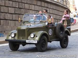 1969 ГАЗ-69 Павел Филенков, Москва на ГУМ Авторалли Gorkyclassic-2014 - 1