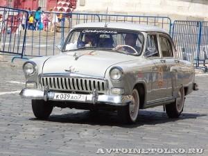 1958 ГАЗ-21В Волга Михаил Готесман и Сергей Трещёв, Тула на ГУМ Авторалли Gorkyclassic-2014 - 1