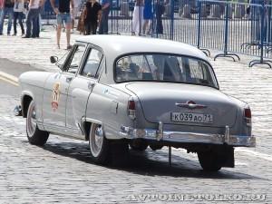 1958 ГАЗ-21В Волга Михаил Готесман и Сергей Трещёв, Тула на ГУМ Авторалли Gorkyclassic-2014 - 2