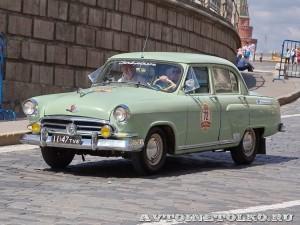 1958 ГАЗ-21В Волга Юрий Стейскал и Геннадий Стейскал, Тула на ГУМ Авторалли Gorkyclassic-2014 - 1