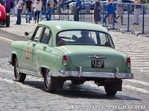 1958 ГАЗ-21В Волга Юрий Стейскал и Геннадий Стейскал, Тула на ГУМ Авторалли Gorkyclassic-2014 - 2