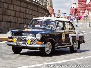 1966 ГАЗ-21Р Волга Артём Уткин и Антон Смирнов, Ярославль на ГУМ Авторалли Gorkyclassic-2014 - 1