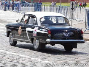 1966 ГАЗ-21Р Волга Артём Уткин и Антон Смирнов, Ярославль на ГУМ Авторалли Gorkyclassic-2014 - 2