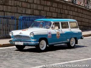 1970 ГАЗ-22Г Волга Сергей Мохов и Иван Мохов, Ярославль на ГУМ Авторалли Gorkyclassic-2014 - 1