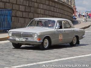 1976 ГАЗ-24 Волга Леонид Сякин и Никита Сякин,  Ярославль на ГУМ Авторалли Gorkyclassic-2014 - 1