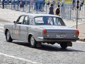 1976 ГАЗ-24 Волга Леонид Сякин и Никита Сякин,  Ярославль на ГУМ Авторалли Gorkyclassic-2014 - 2