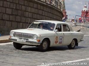 1985 ГАЗ-24 Волга Андрей Лагузов и Наталья Лагузова, Ярославль на ГУМ Авторалли Gorkyclassic-2014 - 1