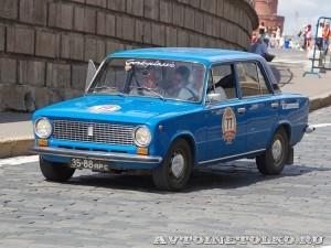 1978 ВАЗ-21011 Андрей Евсеев и Виктор Чернов, Ярославль на ГУМ Авторалли Gorkyclassic-2014 - 1