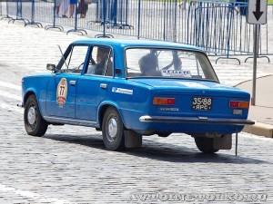 1978 ВАЗ-21011 Андрей Евсеев и Виктор Чернов, Ярославль на ГУМ Авторалли Gorkyclassic-2014 - 2