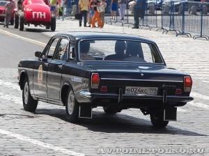 1981 ГАЗ-24 Волга Денис Царёв, Москва на ГУМ Авторалли Gorkyclassic-2014 - 2