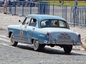 1958 ГАЗ-21В Волга Иван Падерин и Наталия Падерина, Москва на ГУМ Авторалли Gorkyclassic-2014 - 2