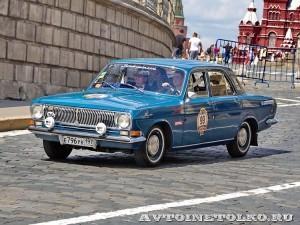 1974 ГАЗ-24 Волга Юрий Нечаев и  Александр Лекае, Москва на ГУМ Авторалли Gorkyclassic-2014 - 1