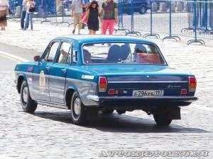 1974 ГАЗ-24 Волга Юрий Нечаев и  Александр Лекае, Москва на ГУМ Авторалли Gorkyclassic-2014 - 2