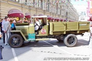 1943 ГАЗ-ММ Кирилл Степцов и Мария Симонова, Москва на ГУМ Авторалли Gorkyclassic-2014 -