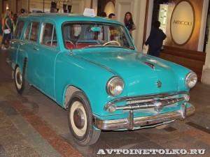 Москвич-423 на выставке Gorkyclassic в ГУМе 2014 - 8691