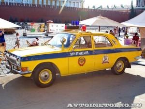 ГАЗ-24 Волга ГАИ на выставке Gorkyclassic в ГУМе 2014 - 8699