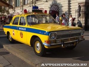 ГАЗ-24 Волга ГАИ на выставке Gorkyclassic в ГУМе 2014 - 8704