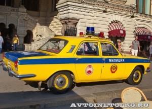 ГАЗ-24 Волга ГАИ на выставке Gorkyclassic в ГУМе 2014 - 8710