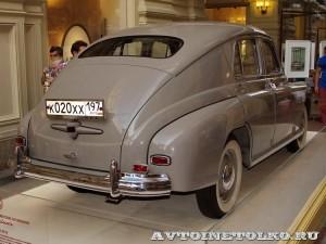 ГАЗ-М20 Победа на выставке Gorkyclassic в ГУМе 2014 - 8717