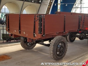 УралЗиС 355М с прицепом на выставке 90 лет советскому автопрому на ВДНХ - 5
