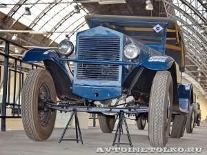 НАМИ-1 на выставке 90 лет советскому автопрому на ВДНХ - 4012
