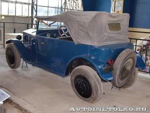 НАМИ-1 на выставке 90 лет советскому автопрому на ВДНХ - 4016