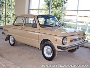 ЗАЗ 968М на выставке 90 лет советскому автопрому на ВДНХ - 4229