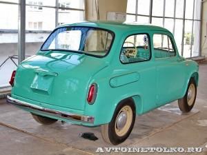 ЗАЗ 965 на выставке 90 лет советскому автопрому на ВДНХ - 4238