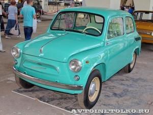 ЗАЗ 965 на выставке 90 лет советскому автопрому на ВДНХ - 4254