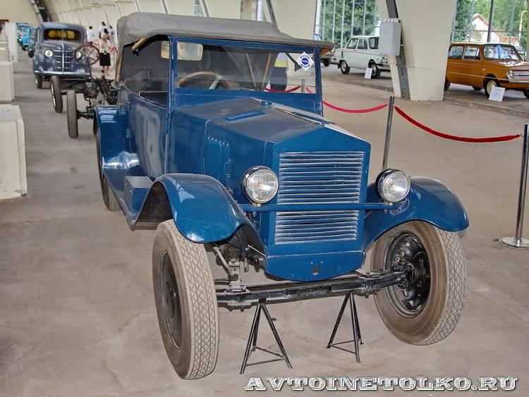 НАМИ-1 на выставке 90 лет советскому автопрому на ВДНХ - 4990