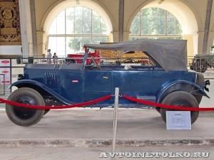 НАМИ-1 на выставке 90 лет советскому автопрому на ВДНХ - 4998