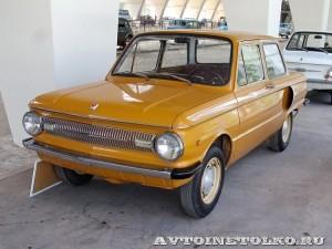 ЗАЗ 966 на выставке 90 лет советскому автопрому на ВДНХ - 5006