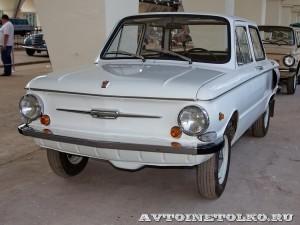 ЗАЗ 968А на выставке 90 лет советскому автопрому на ВДНХ - 5022