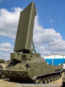 Артиллерийский радиолокационный комплекс 1Л260-Е Алмаз-Антей на выставке Оборонэкспо форума ТВМ 2014 - 5714