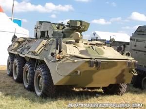 Боевая противодиверсионная машина Тайфун-М Алмаз-Антей на выставке Оборонэкспо форума ТВМ 2014 - 5741