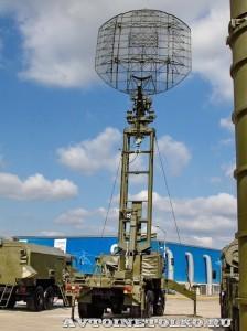 Маловысотная трехкоординатная РЛС Каста-2-2 антенная машина на выставке Оборонэкспо форума ТВМ 2014 - 5991
