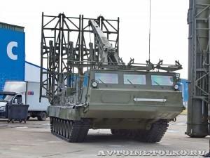 пусковая установка 9А85М из состава комплекса С-300ВМ Антей 2500 на выставке Оборонэкспо форума ТВМ 2014 - 6038