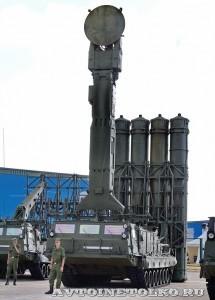 пуско-заряжающая установки 9А83М из состава комплекса С-300ВМ Антей 2500 на выставке Оборонэкспо форума ТВМ 2014 - 6046
