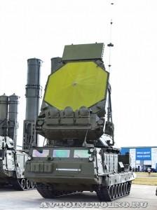 многоканальная станция наведения ракет 9С32М из состава комплекса С-300В на выставке Оборонэкспо форума ТВМ 2014 - 6055