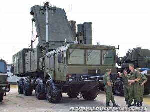 радиолокационная станция обнаружения 91Н6Е комплекса С-400 Триумф на выставке Оборонэкспо форума ТВМ 2014 - 6072