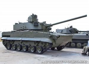 120-мм артиллерийское орудие 2С31 Вена на выставке Оборонэкспо форума ТВМ 2014 - 6141