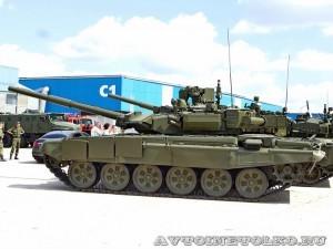 танк Т-90А Владимир на выставке Оборонэкспо форума ТВМ 2014 - 6187