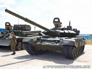 танк Т-72Б3 на выставке Оборонэкспо форума ТВМ 2014 - 6218
