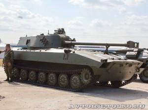 Самоходное 120-мм артиллерийское орудие 2С34 Хоста на выставке Оборонэкспо форума ТВМ 2014 - 6228