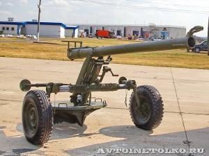 120-мм нарезной казнозарядный полуавтоматический миномёт 2Б23 Нона-М1 на выставке Оборонэкспо форума ТВМ 2014 - 6764