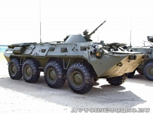 бронетранспортер БТР-80 на выставке Оборонэкспо форума ТВМ 2014 - 6771