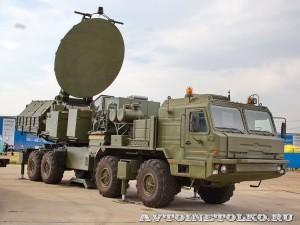 Унифицированный модуль постановки помех 1Л269 Красуха-2 КРЭТ на выставке Оборонэкспо форума ТВМ 2014 - 6883